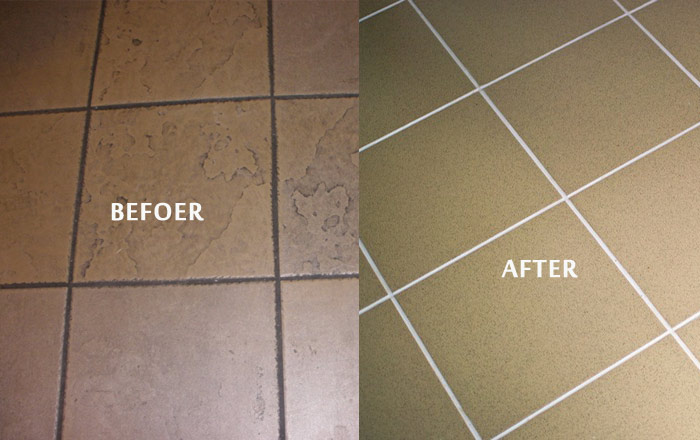 Expert Tile and grout Cleaning  Clear Range