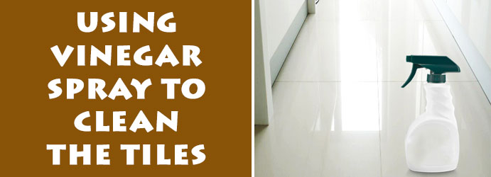 Tile Cleaning With Vinegar