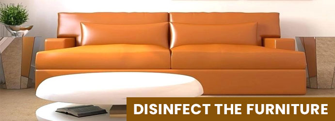 Disinfect the furniture in Canberra